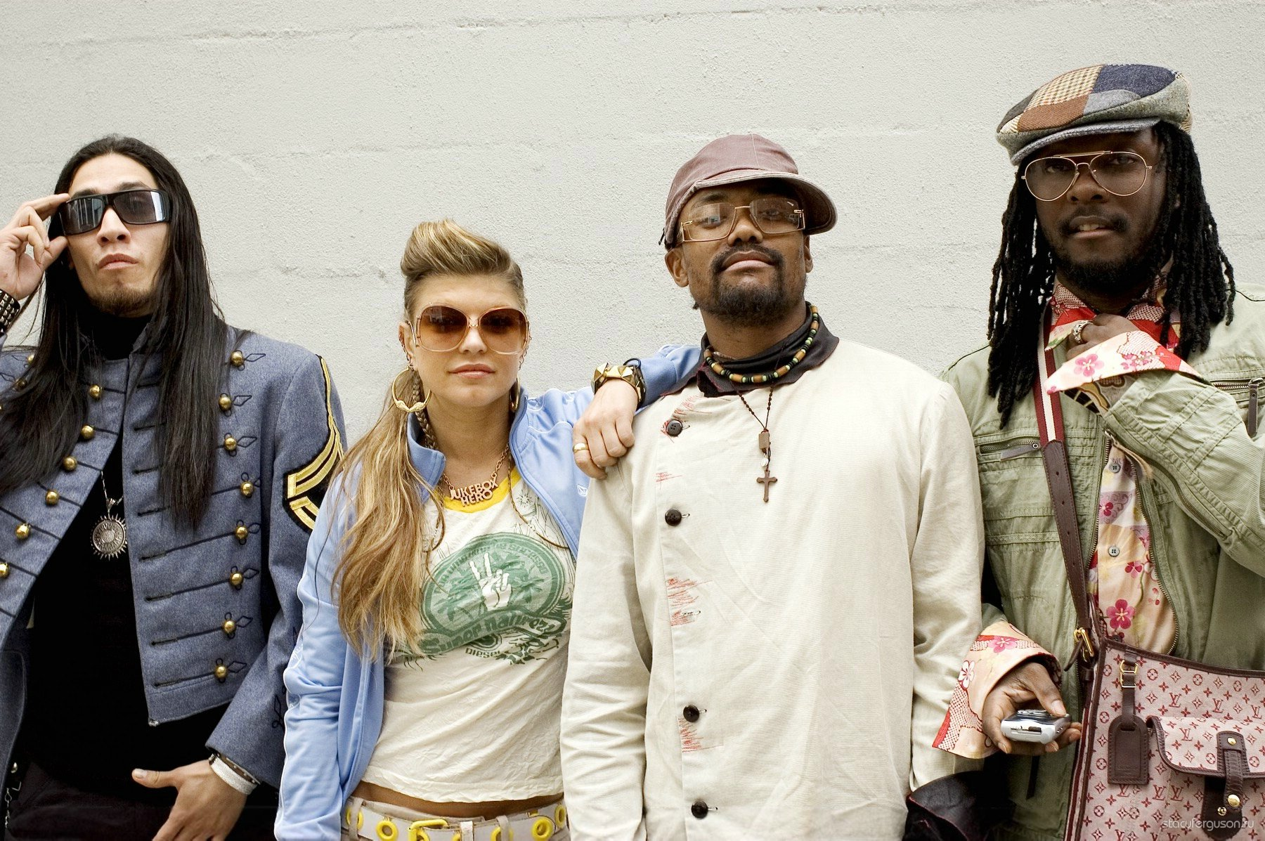 40 Best Black and White Photography examples from Black eyed peas members names and pictures